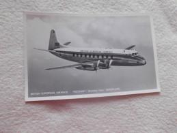 "BRITISH EUROPEAN AIRWAYS  ..VISCOUNT ""DISCOVERY CLASS""  AEROPLANE - 1946-....: Ere Moderne"