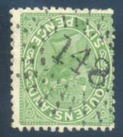 Queensland Numeral Cancel 148 THURSDAY ISLAND On SG 170. - 1860-1909 Queensland