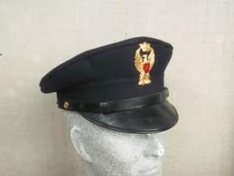 Berretto A Visiera Blu Anni 80  P.S. Originale - Polizia