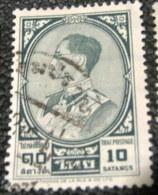 Thailand 1961 King Bhumibol Adulyadej 10s - Used - Thaïlande