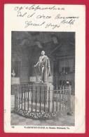 CPA États Unis - Post Card - Richmond - Washington Statue - Richmond