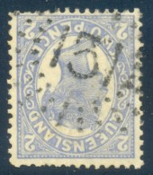 Queensland Numeral Cancel 131 CABOOLTURE On SG 281. - 1860-1909 Queensland