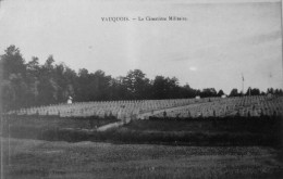 Vauquois : Le Cimetière Militaire - France