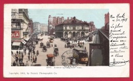 CPA États Unis - Post Card - New York - Harold Square - Places & Squares