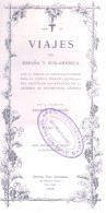 VIAJES EN ESPAÑA Y SUD-AMERICA CON EL OBJETO DE CONSEGUIR FONDOS KENELM VAUGHAN AÑO 1904 CON 83 ILUSTRACIONES - Geography & Travel