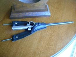 Baionnette Lebel: Dite Cycliste R35 N° D 46546 Et Son Porte Fourreau - Knives/Swords