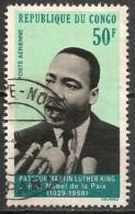 Timbres - Afrique - Congo Brazzaville - Poste Aérienne - 1968 - 50 F - N° 69  - - Congo - Brazzaville