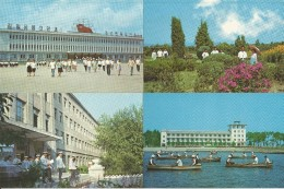 Corea Del Nord, Weunsan, Pyongyang, 1974, Cofanetto Di 13 Cartoline Differenti, Edition En Langues étrangeres. - Corea Del Nord