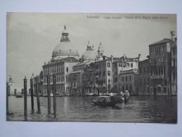 ITALY VENEZIA VENICE - Canal Grande - Chiesa Di S. Maria Della Salute - Venezia (Venice)