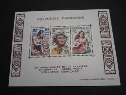 POLYNESIE - 4 Bloc - Luxes - A Voir - Lot N° 16042 - Blocs-feuillets