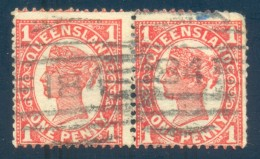 Queensland Numeral Cancel 184 ROSEWOOD On SG 288. - 1860-1909 Queensland