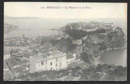MONACO Le Rocher Et Le Port - Harbor