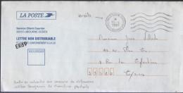 Lettre De Service En Franchise 33 Service Client Courrier Libourne 10-4 1997 Flamme O= - Abarten Und Kuriositäten