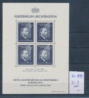 Liechtenstein Block 3  ** ( Ze979  ) Siehe Scan  ! - Bloques & Hojas