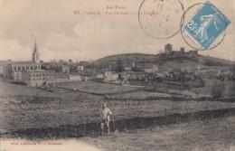 CPA - Vaour - Vue Générale Et Le Château - Vaour