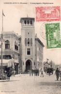 CASABLANCA COMPAGNIE ALGERIENNE Belle Oblitération Marocaine - Casablanca