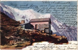SUISSE - Pavillon De L'aiguille  Sur Chamonix - Carte Postée - Précurseur - Pub F.L. CAILLER  - Chocolat Au Lait Suisse - Non Classés