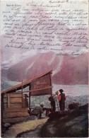 SUISSE - Mer De Glace -précurseur - Belle Carte Postée - Pub Chocolat CAILLER - Non Classés