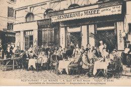 13 // MARSEILLE    Restaurant LA MAREE   4 Quai Rive Neuve , Bistre - Marseilles