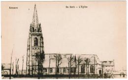Schore, Schoore, De Kerk, L'Eglise (pk30050) - Middelkerke