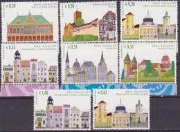 ONU GINEVRA WORLD HERITAGE UNESCO GERMANY 2006 6 V. MNH - UNESCO