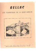 87 Bellac Cité Touristique De La Basse Marche Edité Par Le Syndicat D´Initiative De Bellac Des Années 1970 - Limousin