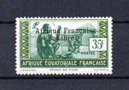 TIMBRE N°164 NEUF AVEC CHARNIERE - A.E.F. (1936-1958)