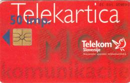 SLOVENIA SLOVENIJA PHONECARD 1996  VENEC 1 STRENGHT OF COMMUNICATION ADVENT  WREATH CHRISTMAS TELEKOM CAT.NO. 027 - Slovenia