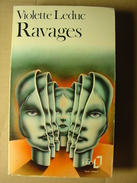 RAVAGES - VIOLETTE LEDUC - FOLIO POCHE - 1975 - Livres, BD, Revues