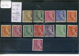 Lot 082 Timbre De France Neuf Y&T 404 à 416 - 1938-42 Mercure