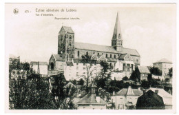 Eglise Abbatiale De Lobbes, Vue D'ensemble (pk30062) - Lobbes