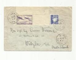 FRANCE   : 540   Et Pétain Hourriez Sur Lettre Pour L'Allemagne Avec Bande Censure CaD Du 05 05 1942 De Laval - Postmark Collection (Covers)
