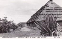 Uganda Mweya Safari Lodge Queen Elizabeth National Park Real Photo - Uganda