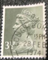 Great Britain 1971 Queen Elizabeth II 3.5p - Used - 1952-.... (Elizabeth II)