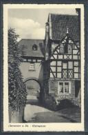 CPA ALLEMAGNE - Oberwinter A. Rh. Rheingasse - Remagen