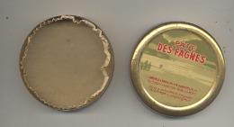 """Boîte Métallique De """" Pâte Des Fagnes """" Sans Pastilles - Pharmacie Populaire Verviers(AF) - Autres Collections"""