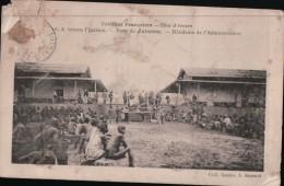 374  COTE DIVOIRE   ECRITE VERSO - Côte-d'Ivoire