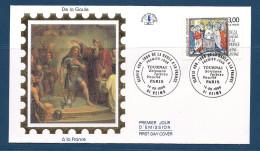 Env Fdc 14/9/96 Reims, N°3024 Y Et T , De La Gaule à La France, Baptême De Clovis à Reims - FDC