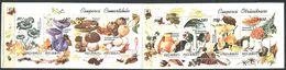 164 ROUMANIE 1994 - Champignon (Yvert 4178 85) Carnet Neuf ** (MNH) Sans Trace De Charniere - Carnets