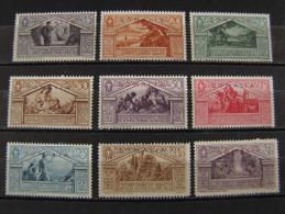 """ITALIA Somalia-1930- """"Virgilio Sopr."""" Cpl. 9 Val. MH* (descrizione) - Somalia"""