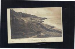 Sur Carte Postale Neuve . Peinture De A. GUILLEMET , Les Roches D'Equihen . Salon Des A.F 1910. - Pittura & Quadri