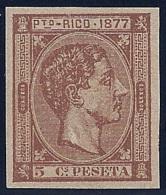 ESPAÑA/PUERTO RICO 1877 - Edifil #13s - MNH ** - Porto Rico