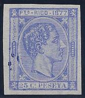 ESPAÑA/PUERTO RICO 1877 - Edifil #16s - MNH ** - Porto Rico