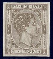 ESPAÑA/PUERTO RICO 1878 - Edifil #18s - MNH ** - Porto Rico