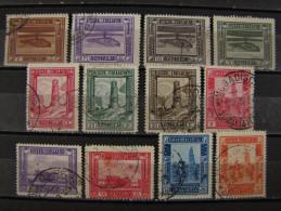 """ITALIA Colonie Somalia -1935-38- """"Pittorica"""" 12 Val. Perf. 14 US° (descrizione) - Somalia"""