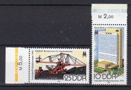 DDR    2593 - 2594   ** Postfrisch - Ungebraucht
