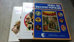 Storia Del Racconto Popolare Cristofori Menarini 2 Volumes Illustré Littérature Populaire - Books, Magazines, Comics