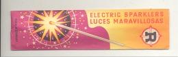 Paquet D'étincelles Complet - Electric Sparklers Luces Maravillosas (AF) - Autres