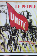 LE PEUPLE 1936 REEDITION - Gewerkschaften