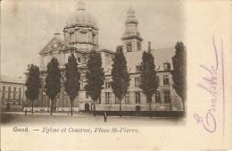 GENT-PLACE SAINT PIERRE-EGLISE ET CASERNE - Gent
